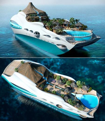 Tropical Island: G.ban's World: Tropical Island Yacht (Read: Damn Rich People