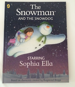 personalised childrens snowman and snowdog book review