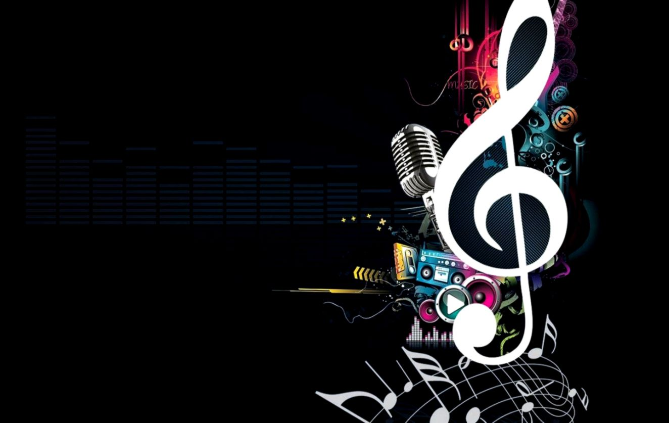 Abstract Music Art Wallpaper Wallpapers Themes