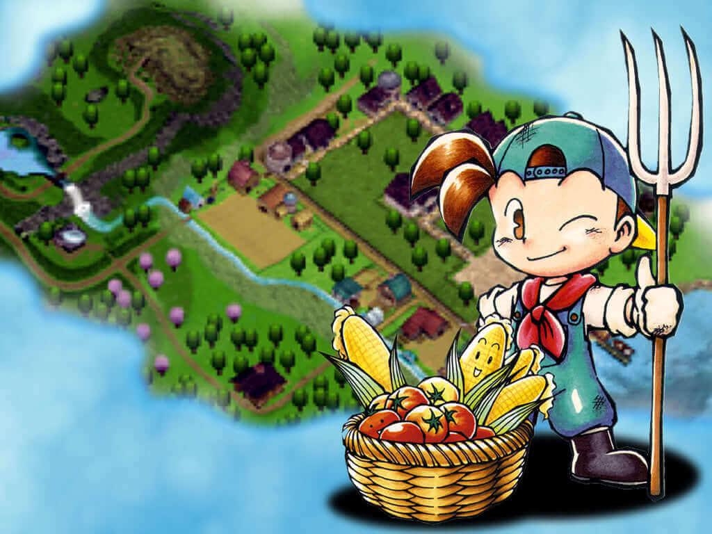 """Panduan Lengkap Tanaman """"Crop Guide"""" Harvest Moon Back to Nature"""