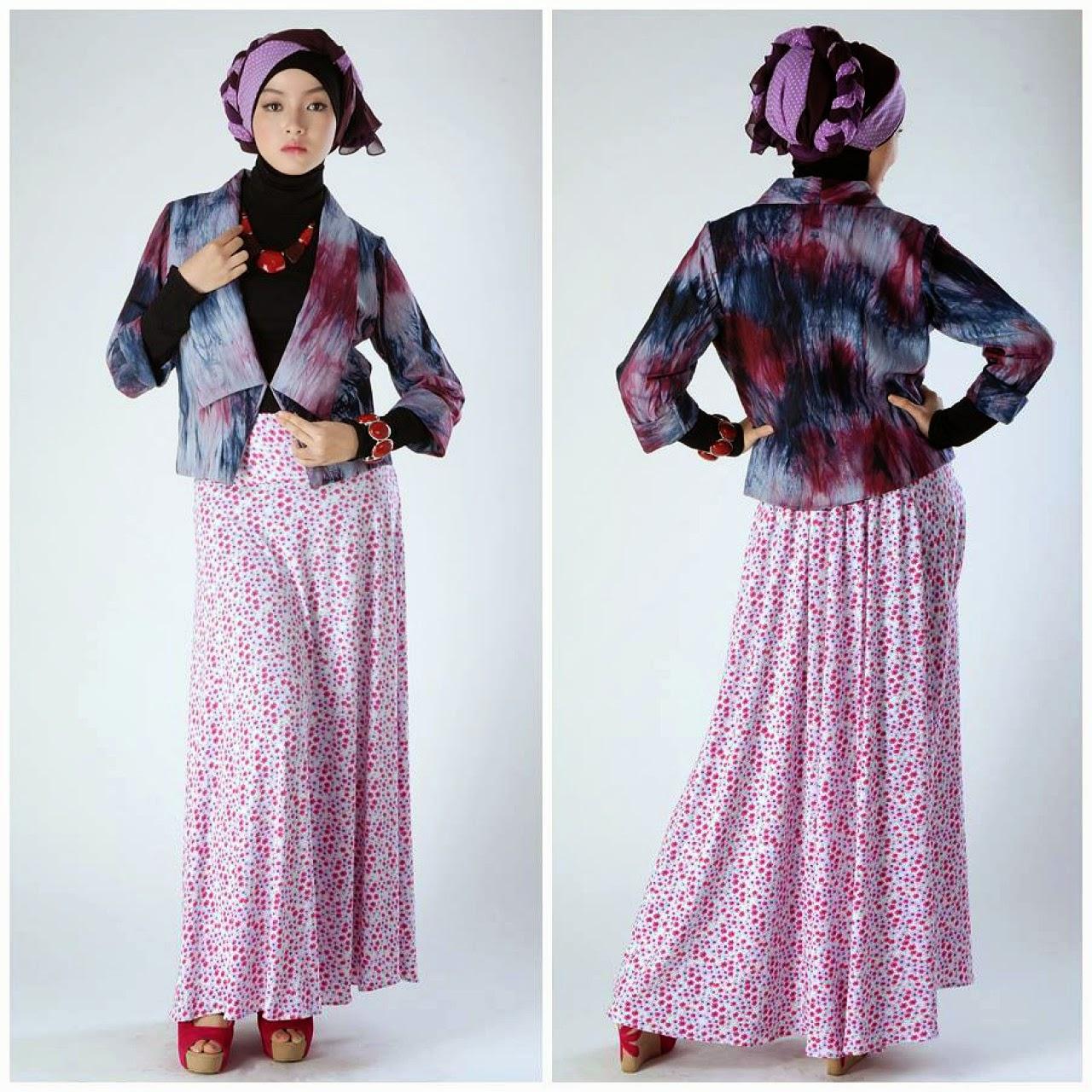Model baju muslim gamis anak muda Foto baju gamis anak muda terbaru