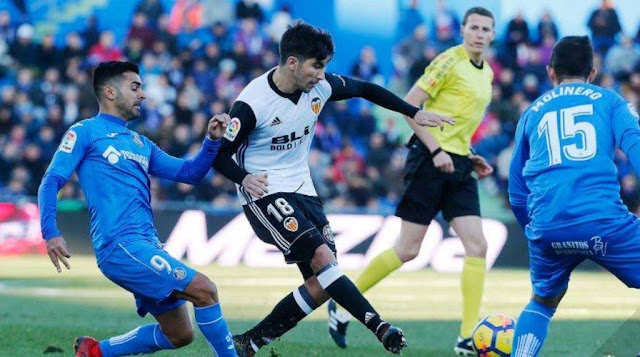 Prediksi Getafe vs Valencia Liga Spanyol