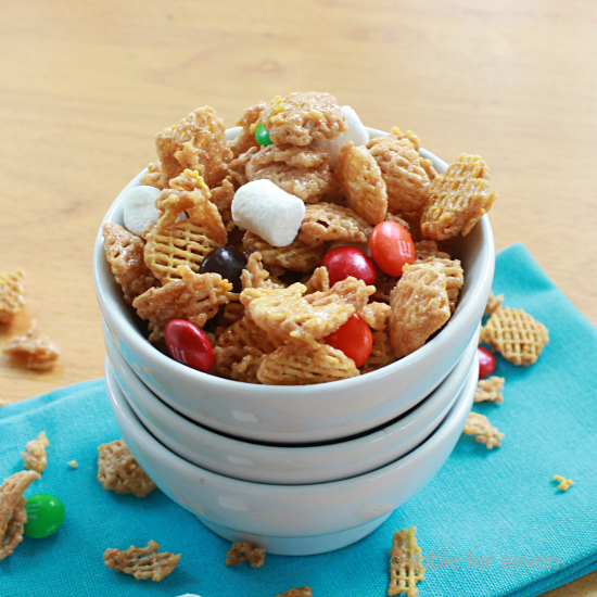 Caramel and Marshmallow Cereal Mix