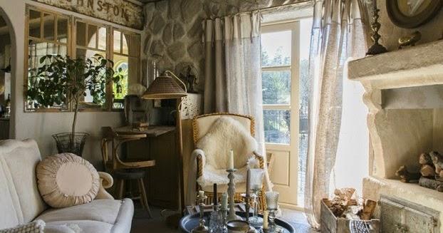 Ivonne sempr n moderna casa cl sica de estilo provenzal for Casa clasica moderna interiores