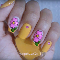 Simples e bellas- Unhas decoradas