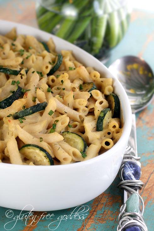 Spring penne pasta recipe