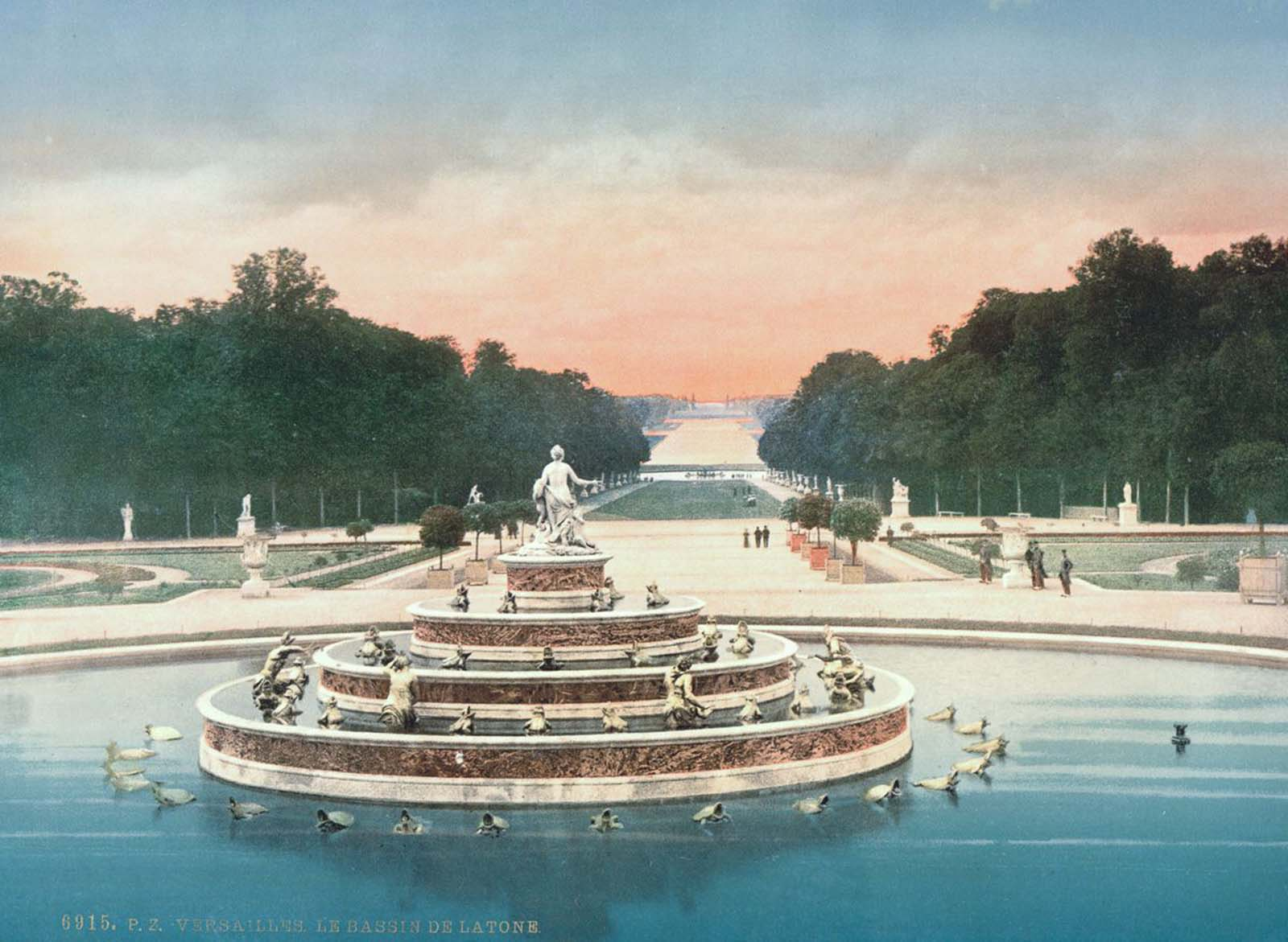 The Latone Basin, Versailles.
