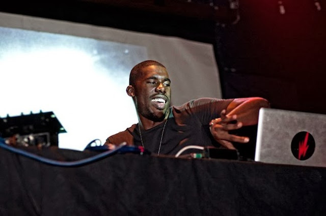 Here we see Flying Lotus enthusiastically checking his AOL inbox.