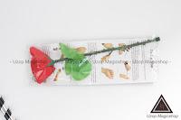 Jual alat sulap folding rose, folding rose magic, magic rose, sulap mawar