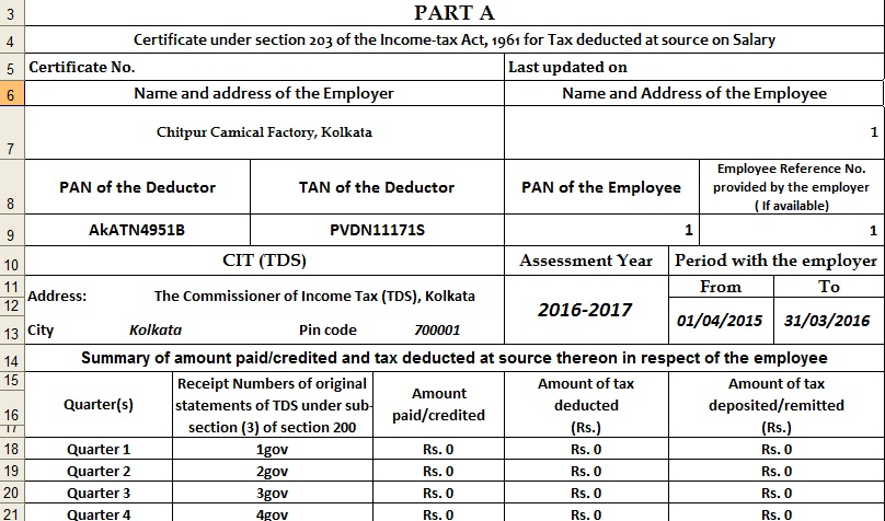 Deduction under section Chapter VI -A at a glance with ...