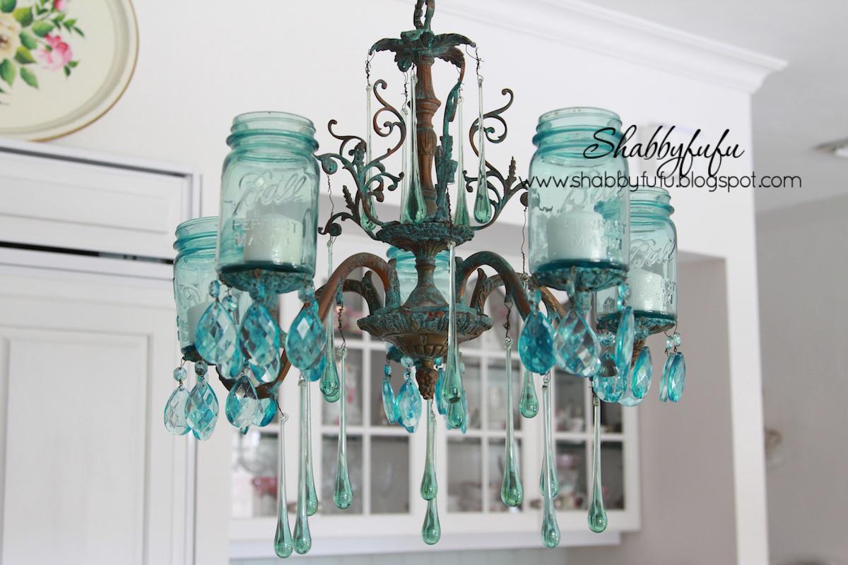 mason jar farmhouse chandelier