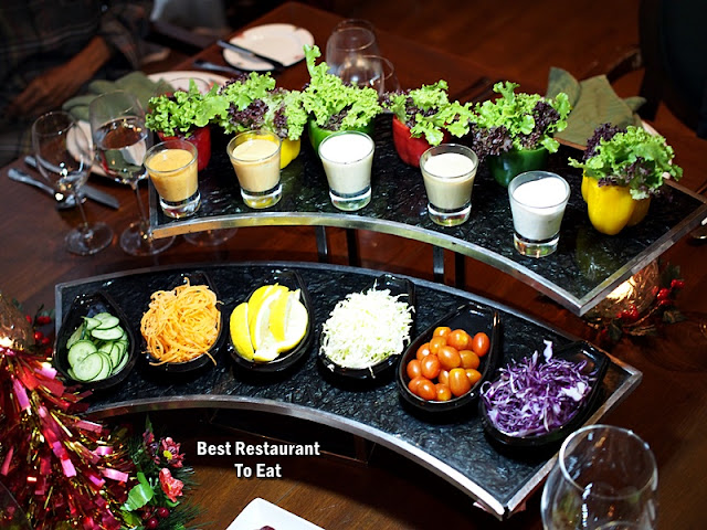 CHRISTMAS 2018 DINNER Dishes - Appetizer and Salad Selection