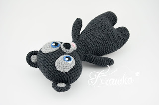Krawka: Three brave bears crochet pattern by Krawka, Disney Merida brave triplet brother bears