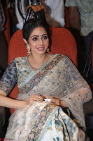Sri Devi in designer saree stunning beauty at the launch of MOM movie Trailer~  Exclusive 135.JPG