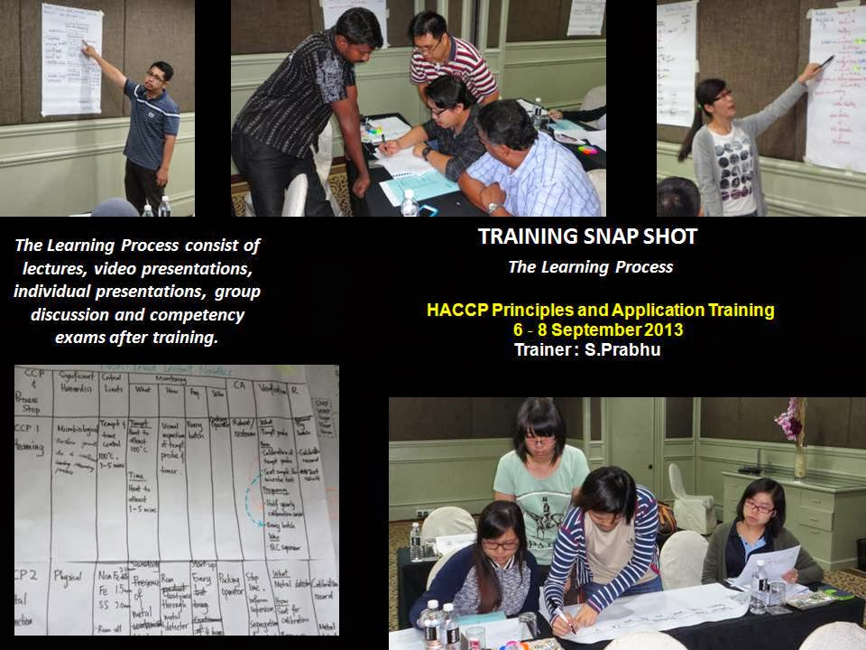 prabhu the trainer: HACCP PRINCIPLES AND APPLICATION TRAINING