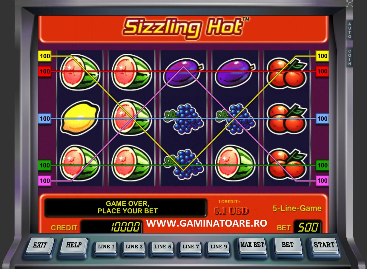 Sizzling Hot Poker Ca La Aparate