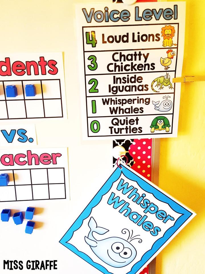Classroom Management Ideas ~ Miss giraffe s class chatty classroom management