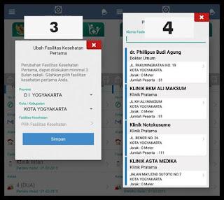 Cara mudah pindah faskes BPJS Kesehatan melalui aplikasi Mobile JKN 6