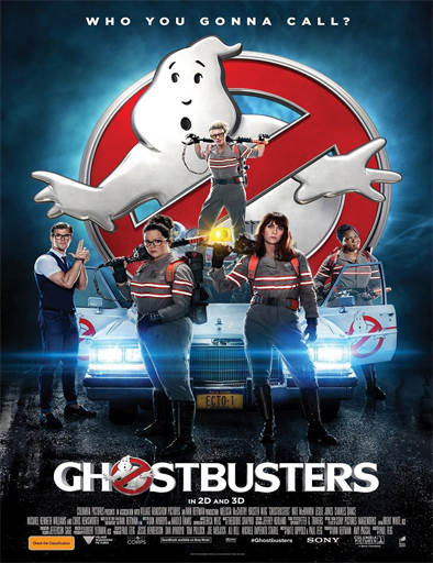 Ver Cazafantasmas 3 (Ghostbusters 3) (2016) Online