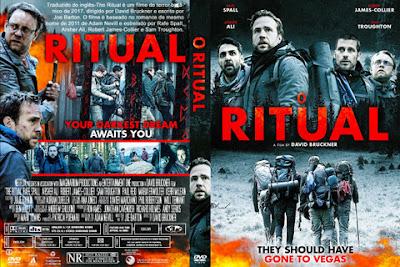 Filme O Ritual (The Ritual) DVD Capa