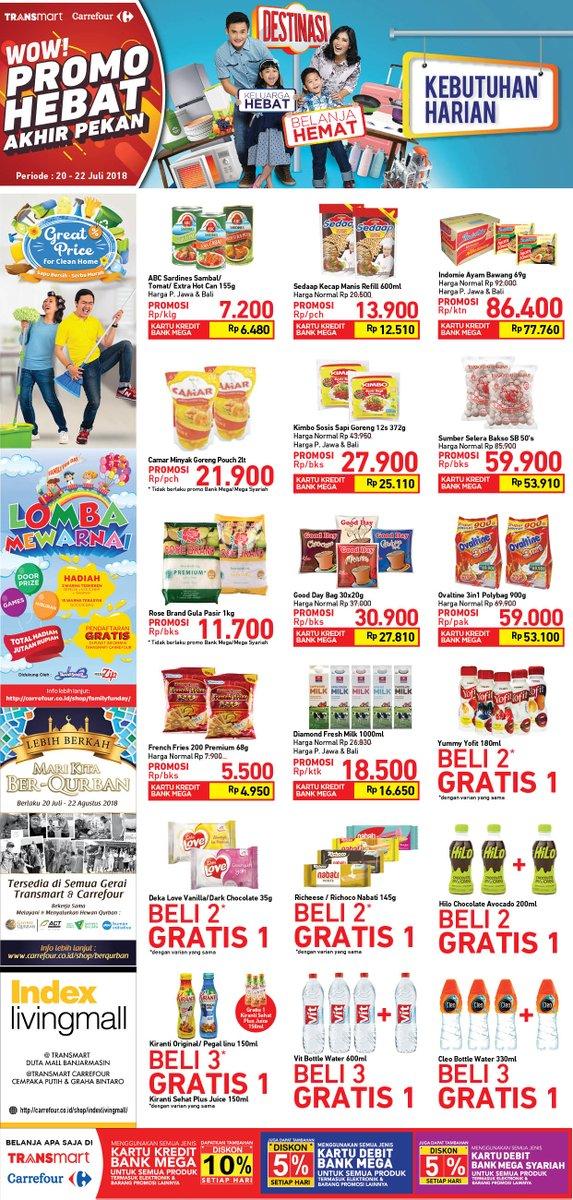 Carrefour - Katalog Promo Weekend Periode 20 - 22 Juli 2018