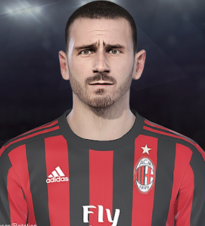 PES 2018 Faces by Prince Hamiz ( Leonardo Bonucci )