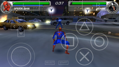 Download Game PPSSPP ISO Marvel Nemesis Rise Of The Imperfects Full Version Unlock All Characters