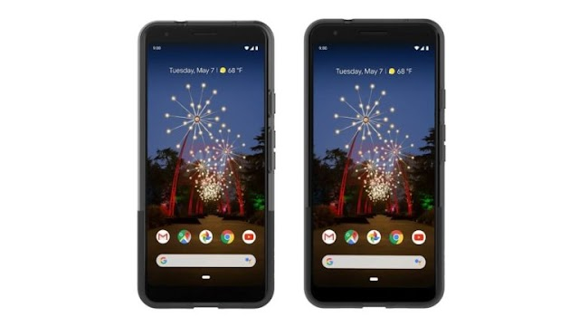 The first look at the final designs for new Pixel 3a and Pixel 3a XL phone