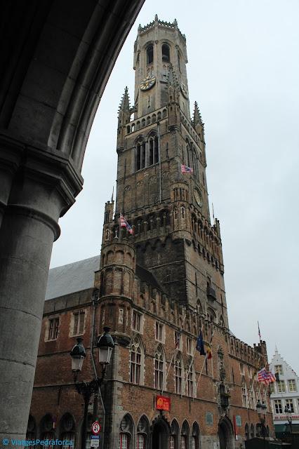 Flandes, Bèlgica, els millors monuments del gòtic civil
