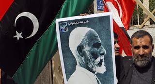 وفاة الابن الوحيد للمناضل الليبي عمر المختار  فى مدينة بنغازى عن عمر يناهز 97 عاما