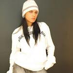 Andrea Rincon, Selena Spice Galeria 19: Buso Blanco y Jean Negro, Estilo Rapero Foto 12