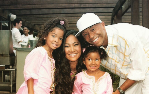 We go back like spinal cords! -Kimora Lee celebrates her ex-husband,Russell Simmons as he turns 60