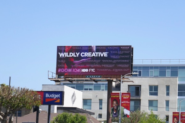 Room 104 HBO Emmy FYC billboard