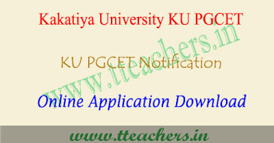 KU PGCET 2019 online application form, kucet apply online 2019