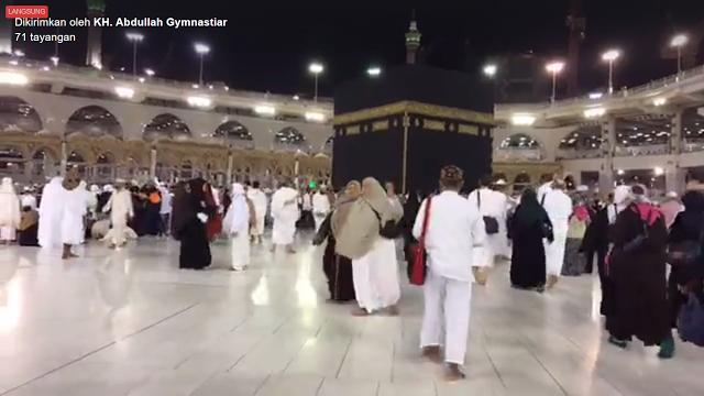 Inilah Doa Aa Gym dari Masjidil Haram di Sepertiga Malam untuk Pilkada Jakarta