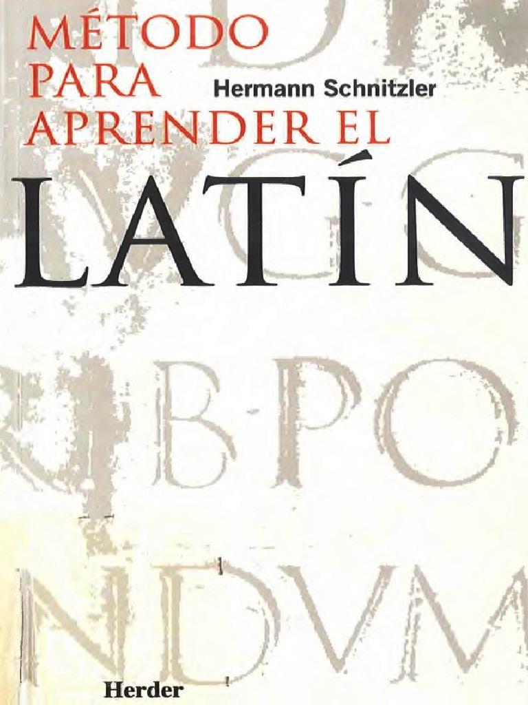 Método para aprender latín – Hermann Schnitzler