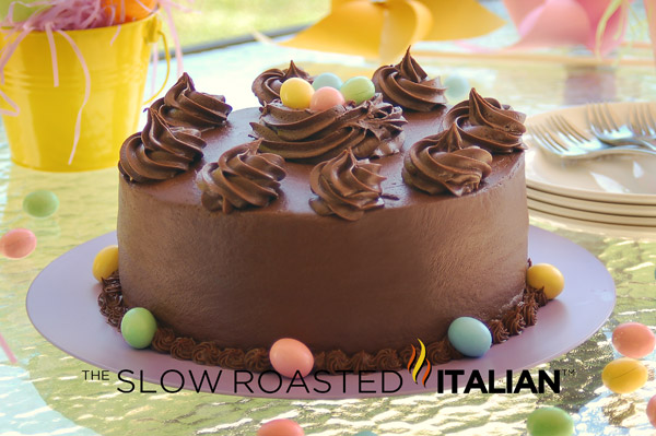 Hershey S Perfectly Chocolate Cake For Easter