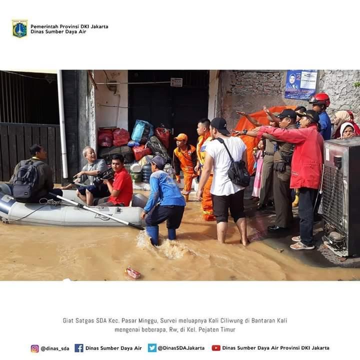 Banjir Jakarta Luapan Ciliwung, Gerak Cepat Anies Bikin Warga Bangga