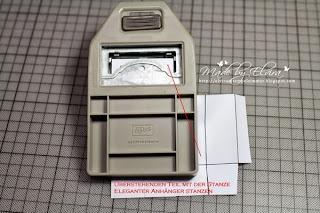Verpackung mit Stanze Eleganter Anhänger - Stampin Up!