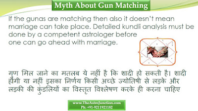Myth about horoscope matching, www.theastrojunction.com, gaurav malhotra