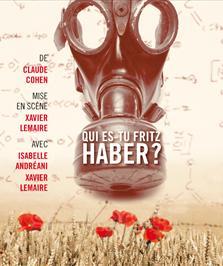 théâtre Qui es-tu Fritz Haber ? de Claude Cohen