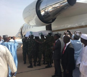 Shehu Shagari begins the last journey home