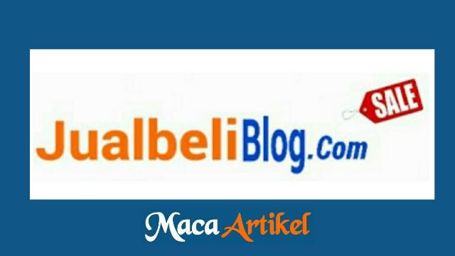 Situs Jual Beli Blog Yang Terpercaya Dan Tentu Aman