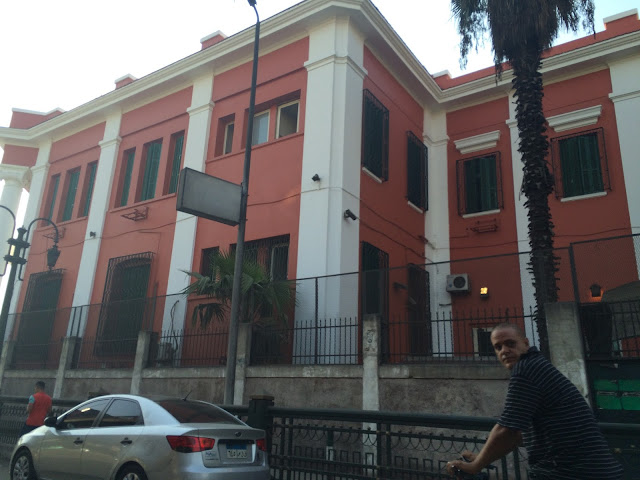 Renovated Italian Consulate in Cairo