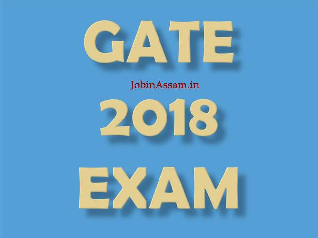 GATE 2018 Examination