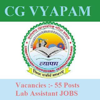 Chhattisgarh Professional Examination Board , CGVYAPAM, VYAPAM, freejobalert, Sarkari Naukri, Latest Jobs, Chhattisgarh, Lab Assistant, Graduation, cgvyapam logo