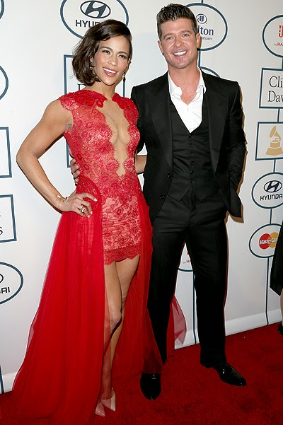Robin Thicke and Paula Patton parted