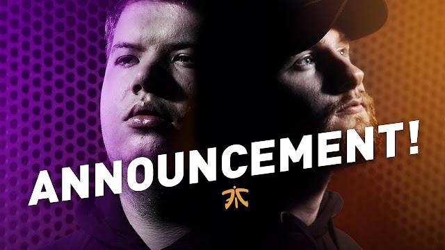 「Fnatic」がJW、KRIMZとの契約を3年間延長