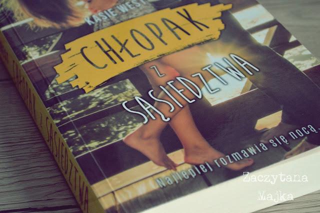 """Zaskakująca i urocza - recenzja książki #168 - Kasie West """"Chłopak z sąsiedztwa"""""""