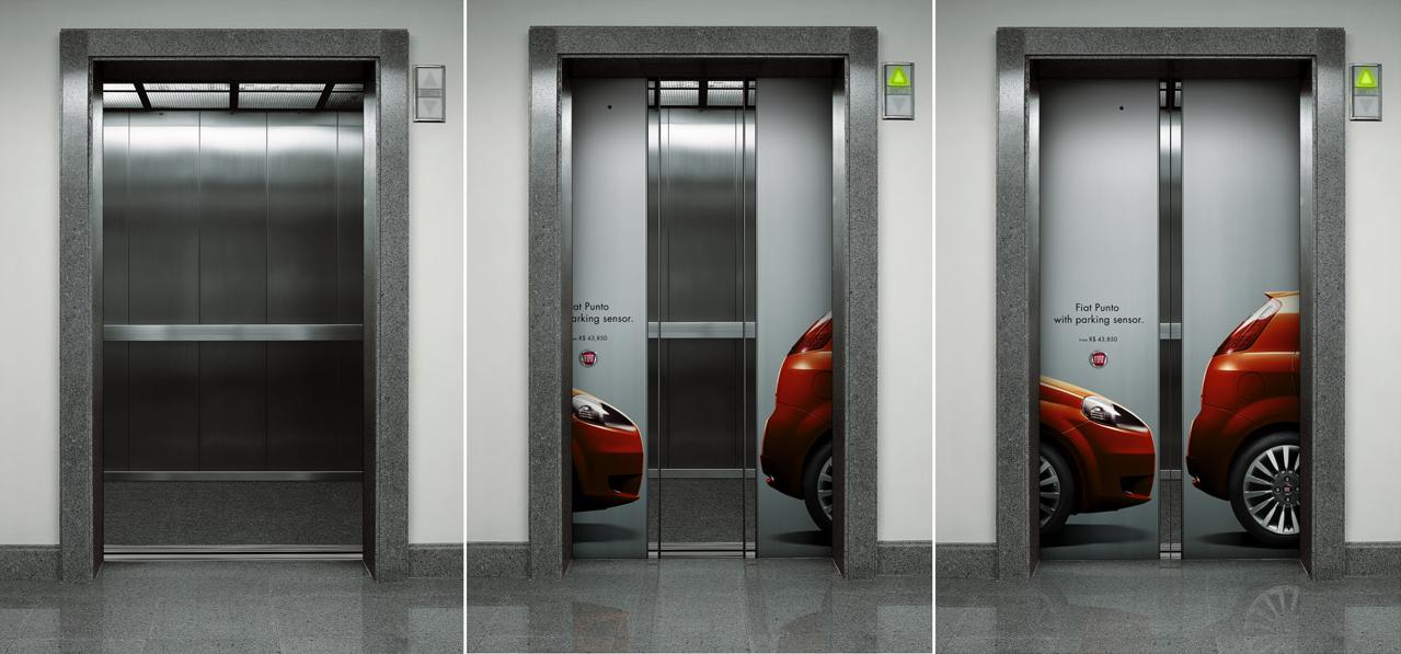 23 Cool Elevator Advertisements Part 2